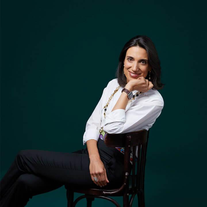 Portrait of Alexandra Alberti-Vedrenne, consultant at Eric Salmon & Partners