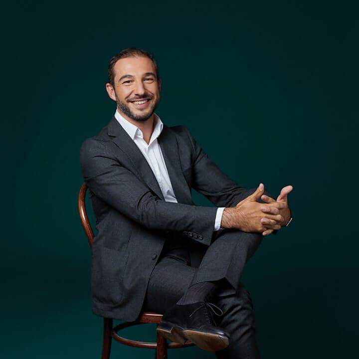 Portrait of Jean-Etienne Boisseau, consultant at Eric Salmon & Partners