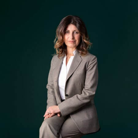 Portrait of Tiziana De Nigris, consultant at Eric Salmon & Partners