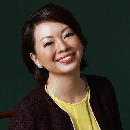 Portrait of Carol Yeo, consultant at Eric Salmon & Partners