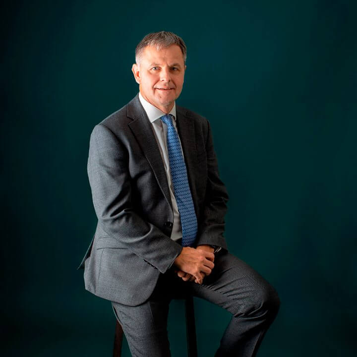 Portrait of Christian Gerlach, consultant at Eric Salmon & Partners